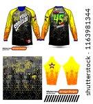 long sleeve motocross jerseys t ...   Shutterstock .eps vector #1163981344