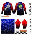 long sleeve motocross jerseys t ...   Shutterstock .eps vector #1163981431