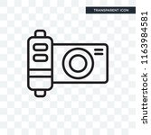 photograph vector icon isolated ... | Shutterstock .eps vector #1163984581