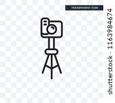 photograph vector icon isolated ... | Shutterstock .eps vector #1163984674
