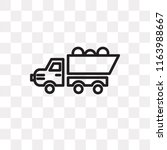 pick up vector icon isolated on ... | Shutterstock .eps vector #1163988667