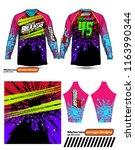 long sleeve motocross jerseys t ...   Shutterstock .eps vector #1163990344