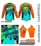 long sleeve motocross jerseys t ...   Shutterstock .eps vector #1163993521