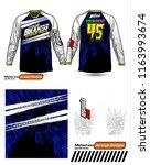 long sleeve motocross jerseys t ...   Shutterstock .eps vector #1163993674