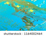 electronic circuit board close... | Shutterstock . vector #1164002464
