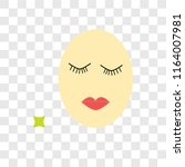 grace vector icon isolated on... | Shutterstock .eps vector #1164007981