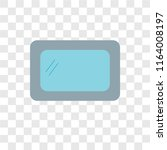 hygienic vector icon isolated... | Shutterstock .eps vector #1164008197