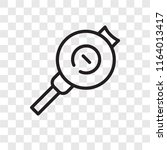 search vector icon isolated on... | Shutterstock .eps vector #1164013417