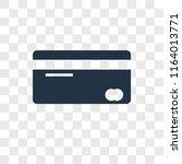 credit card vector icon... | Shutterstock .eps vector #1164013771