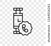 smartwatch vector icon isolated ... | Shutterstock .eps vector #1164016261
