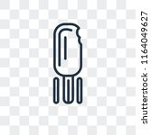 popsicle vector icon isolated... | Shutterstock .eps vector #1164049627