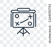 tactic vector icon isolated on... | Shutterstock .eps vector #1164050701