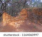 Disintegrating Wall Of Stone...
