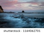 this is a sunset image at... | Shutterstock . vector #1164062701