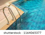 grab bars for ladders in the... | Shutterstock . vector #1164065377