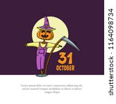 vector cover on the theme of... | Shutterstock .eps vector #1164098734
