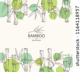 Background With Bamboo  Bamboo...