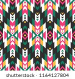 tribal seamless colorful... | Shutterstock .eps vector #1164127804
