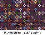 beautiful  vintage pattern... | Shutterstock .eps vector #1164128947