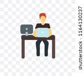 it specialist vector icon...   Shutterstock .eps vector #1164130237