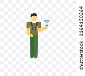 it specialist vector icon...   Shutterstock .eps vector #1164130264