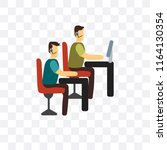 technical support vector icon... | Shutterstock .eps vector #1164130354