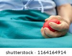 close up of hands senior man or ... | Shutterstock . vector #1164164914