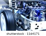 internal working of a hybrid car | Shutterstock . vector #1164171