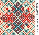 beading design  tribal design ... | Shutterstock .eps vector #1164175774