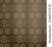 luxury ornamental background in ... | Shutterstock .eps vector #1164176131