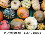Crate Of Various Squash And...