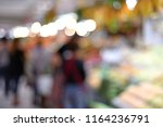 blur image of fruits and... | Shutterstock . vector #1164236791