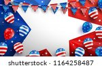sale background poster template ... | Shutterstock .eps vector #1164258487
