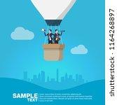 future business leader concept...   Shutterstock .eps vector #1164268897