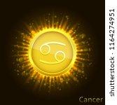 cancer sign. horoscope symbol...   Shutterstock .eps vector #1164274951