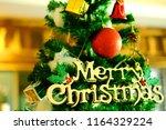 luxury interior of restaurant...   Shutterstock . vector #1164329224