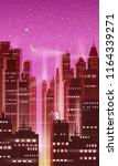 night city  city scene ... | Shutterstock .eps vector #1164339271