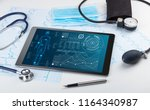 medical full body screening... | Shutterstock . vector #1164340987