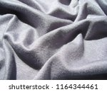 texture of fabric. gray viscose ... | Shutterstock . vector #1164344461