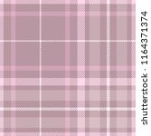 plaid pattern in shades of... | Shutterstock .eps vector #1164371374