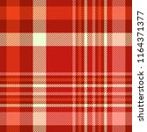 plaid pattern in shades of red  ... | Shutterstock .eps vector #1164371377