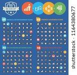 big vector icon set design   Shutterstock .eps vector #1164380677