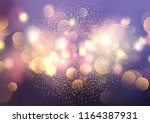 decorative background with... | Shutterstock .eps vector #1164387931