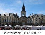 rennes  france   june 27  2018  ... | Shutterstock . vector #1164388747