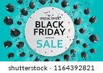 black friday sale banner...   Shutterstock .eps vector #1164392821