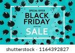black friday sale banner...   Shutterstock .eps vector #1164392827
