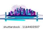 vector horizontal illustration...   Shutterstock .eps vector #1164403507