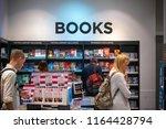 london  uk   august 12  2018  ... | Shutterstock . vector #1164428794