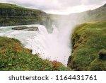 landscapes of gullfoss...   Shutterstock . vector #1164431761