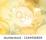 colorful modern abstract... | Shutterstock .eps vector #1164436834